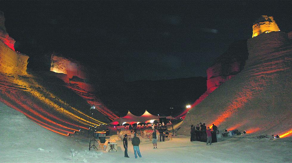 אירועים במדבר (צילום: עין מצלמת)