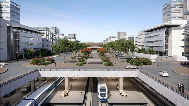 """Проект нового квартала в Явне. Предоставлено архитектурным бюро """"Колкер-Эпштейн"""""""