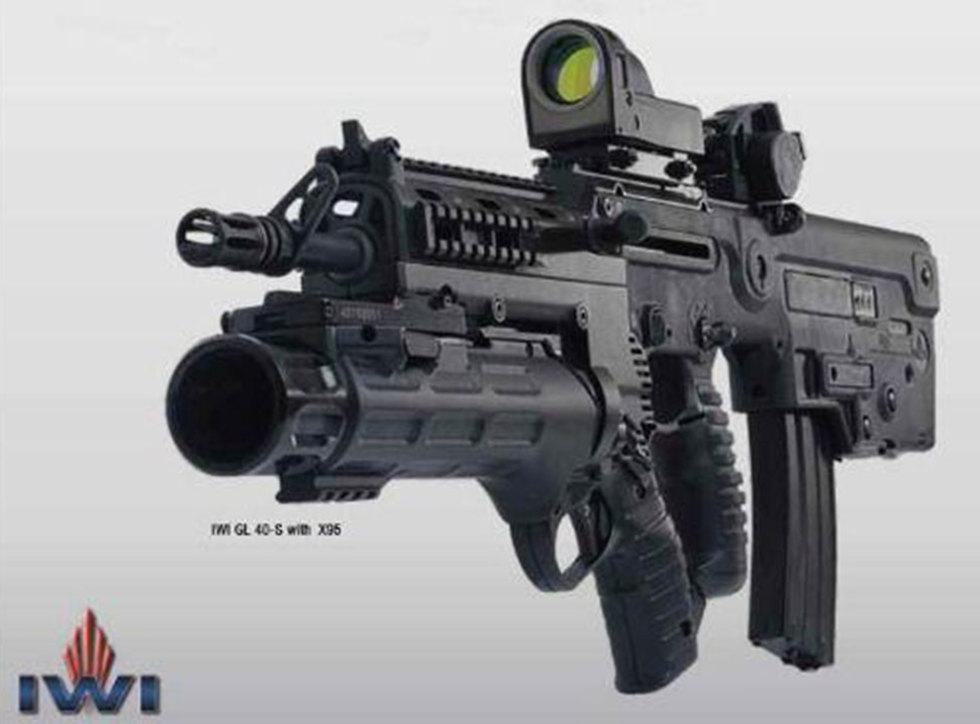 Новый подствольный гранатомет. Фото: компания  IWI