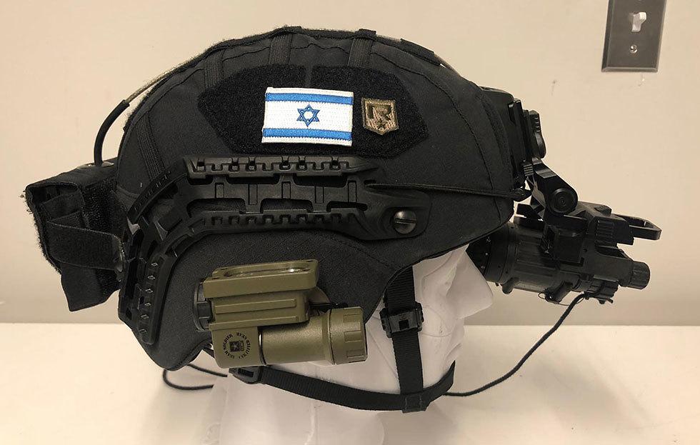 Керамический бронежилет. Фото: пресс-служба ЦАХАЛа