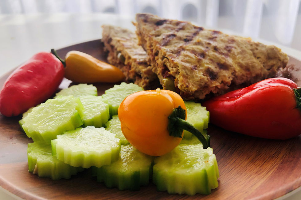 ארוחת בוקר דלת פחמימות ועתירת טעמים (צילום: לידור רז-כהן)