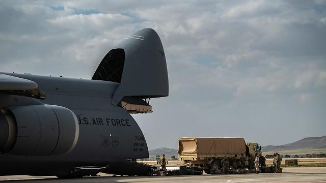 THAAD arrives in Israel for the first time (Photo: IDF Spokesperson's Unit)
