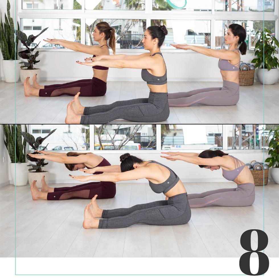 ה-8 באפריל - Spine Stretch (מעיין סלע)