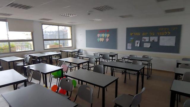 אנרכיה בבית הספר בית אריה אלימות עזיבת מורים ()