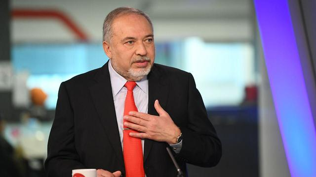 Lieberman (Photo: Yair Sagi)