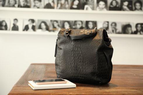 התיק של אלינור שחר (צילום: אורית פניני)