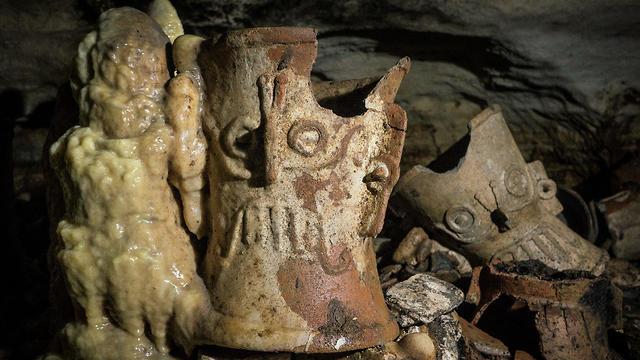 מערת בלמקו צ'יצ'ן איצה מקסיקו ארכיאולוגיה (צילום: רויטרס)