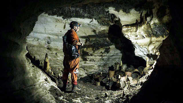 מערת בלמקו צ'יצ'ן איצה מקסיקו ארכיאולוגיה (צילום: AP)