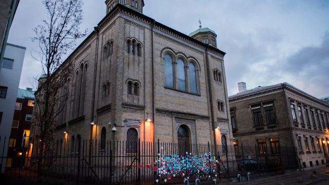 Molotov cocktails thrown at synagogue in Gothenburg in 2017