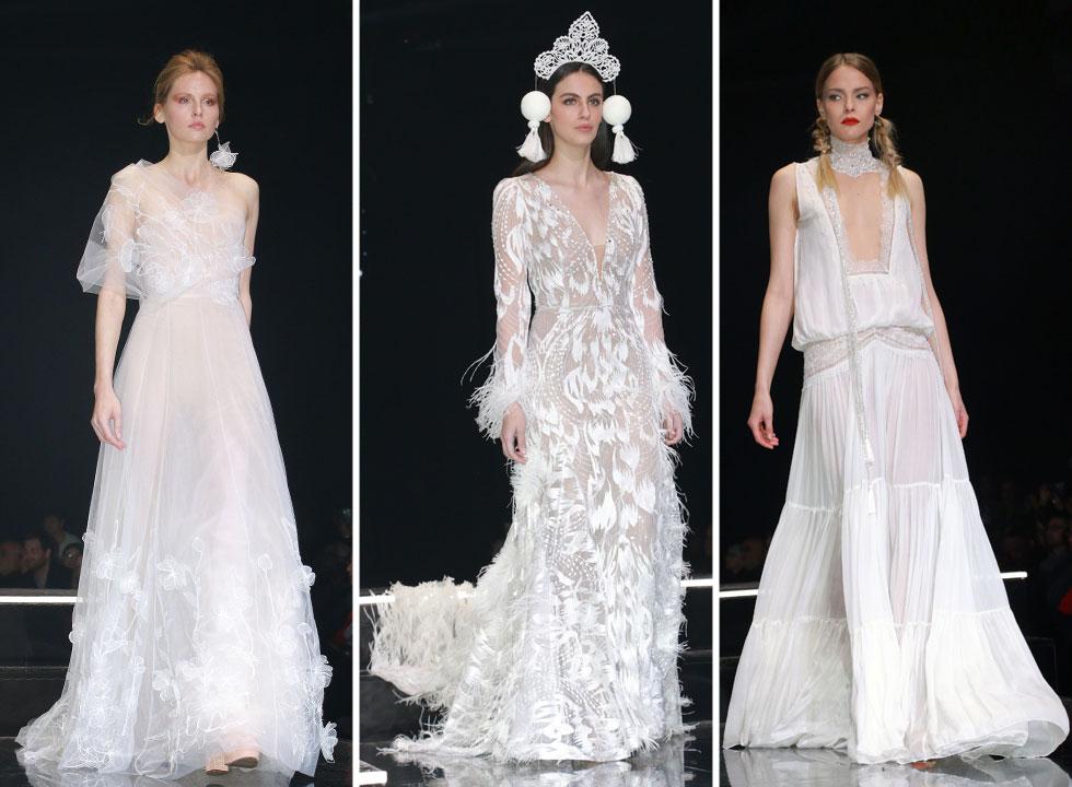 מעצבי שמלות הכלה הישראלים עולים על הבמה (צילום: ענת מוסברג)