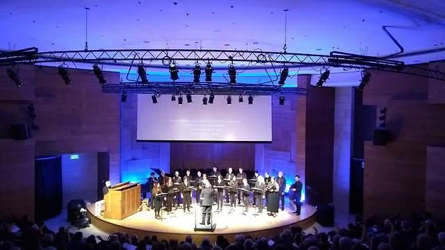 Vocal ensemble (Photo: Courtesy of the Israel Vocal Ensemble.)