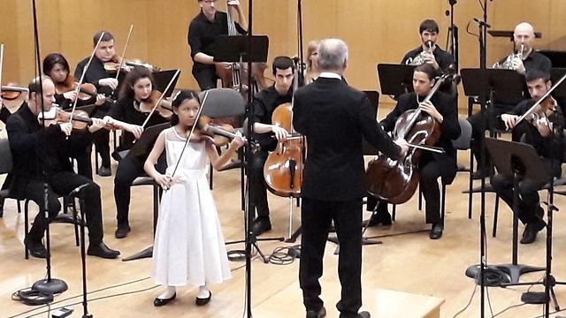 Leia Zhu, an 11-year-old violin prodigy (Photo: A. Ordo) (Photo: Avi Ordo)