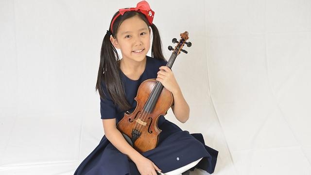 Leia Zhu, an 11-year-old violin prodigy (Photo: Zhutek)