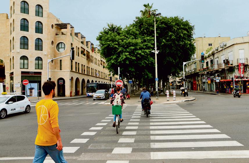 Сдерот Иерушалаим в Яффо. Фото: Амит Шааль