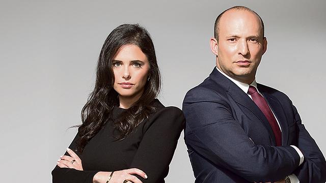 Ayelet Shaked and Naftali Bennet (Photo: Rami Zarnegar) (Photo: Rami Zarnger)