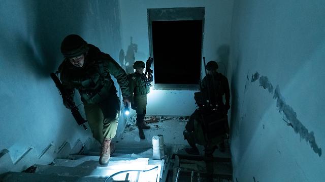 IDF troops demolishing the home of Asem Barghouti (Photo: IDF Spokesperson's Unit)
