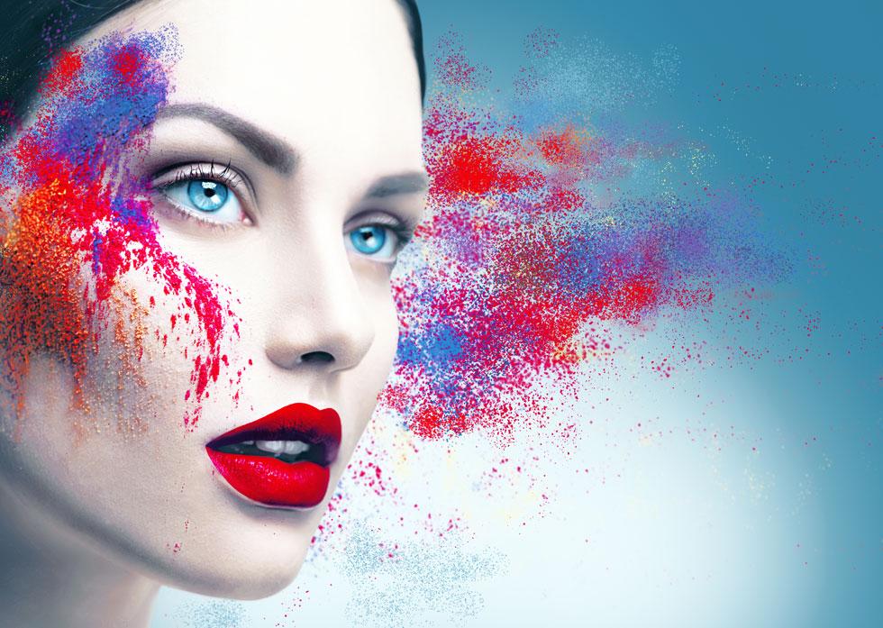 אפשר להתפרע עד הסוף עם האיפור, בלי הוצאות כלכליות כואבות (צילום: Shutterstock)