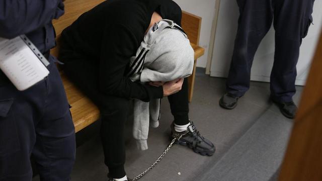Орэль Завит на скамье подсудимых. Фото: Моти Кимхи