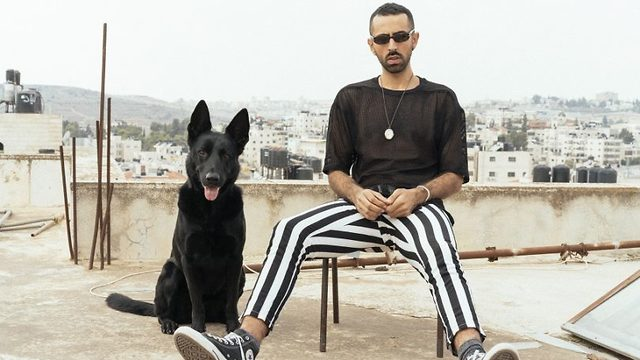 Palestinian singer-songwriter Bashar Murad