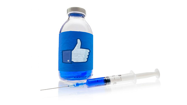 פייסבוק חיסון חיסונים (צילום: shutterstock)
