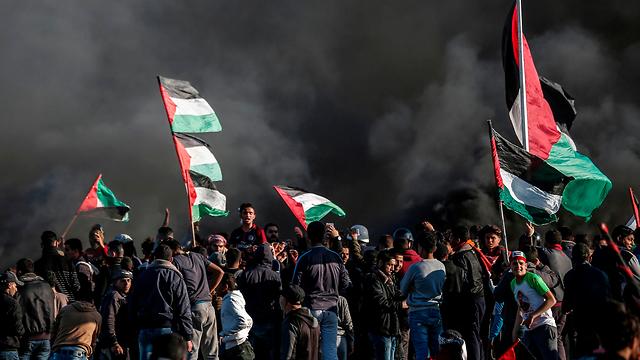 Clashes along the Israel-Gaza border (Photo: AFP)