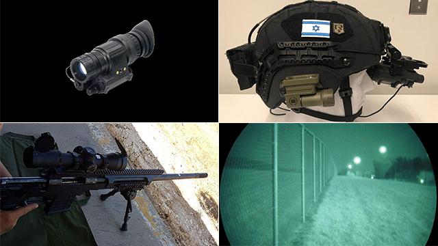 Новое оружие и снаряжение пехотинцев. Фото: пресс-служба ЦАХАЛа