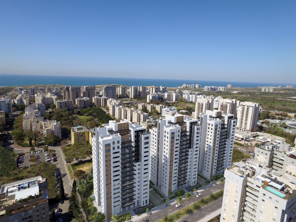 פינוי בינוי רמת אביב (הדמייה: כען שנהב אדריכלים)