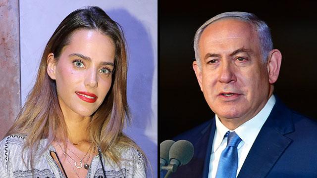 Rotem Sela and Benjamin Netanyahu  (Photo: Dana Kopel, Kobi Gideon)