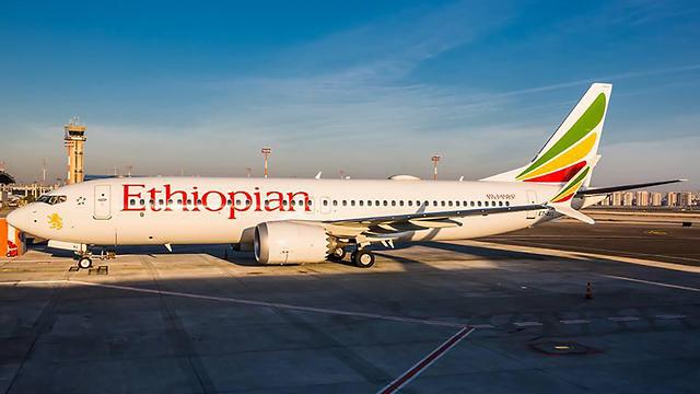 Самолет Boeing 737 за 4 месяца до катастрофы в аэропорту Бен-Гурион. Фото: Йохай Моси (Photo: Yohai Mossi)