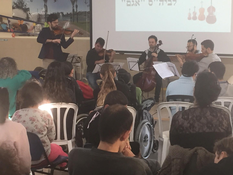 חוויה מרגשת לנגנים ולמאזינים