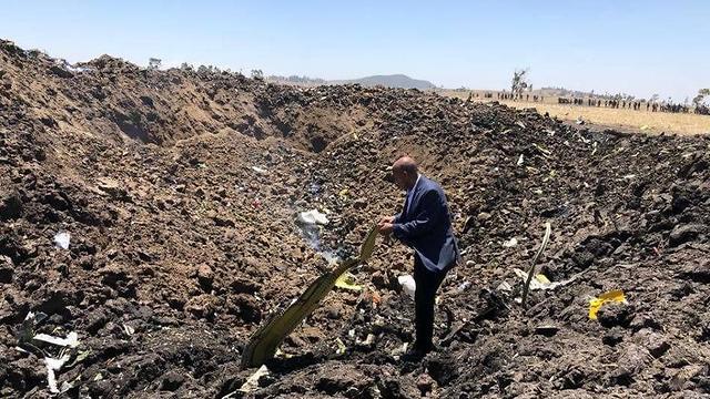 התרסקות מטוס אתיופיה אתיופיין איירליינס Ethiopian Airlines (צילום: Ethiopian Airlines)
