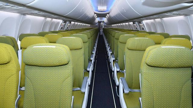 אתיופיה התרסקות מטוס אתיופיין איירליינס כך נראה מטוס כזה מבפנים (צילום: EPA)