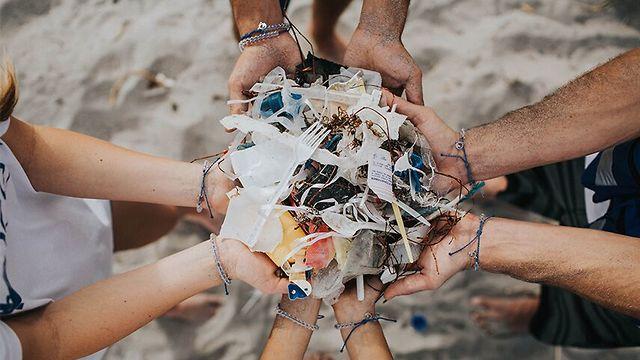 Tel Aviv coastline - third most polluted by plastic waste in the Mediterranean (Photo: 4ocean)