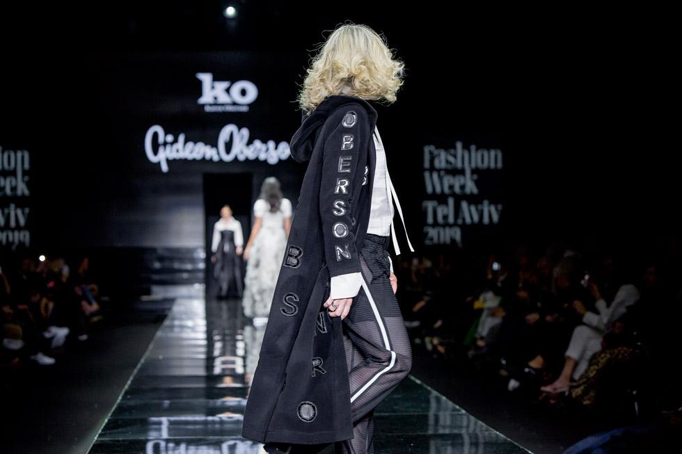 תצוגת הפרידה של גדעון וקארן אוברזון בערב הפתיחה של שבוע האופנה תל אביב, 2019  (צילום: ענבל מרמרי)