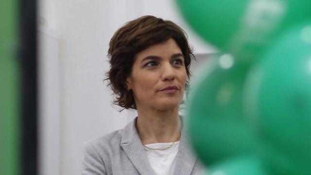 השקת קמפיין הבחירות של מרצ (צילום: מוטי קמחי)