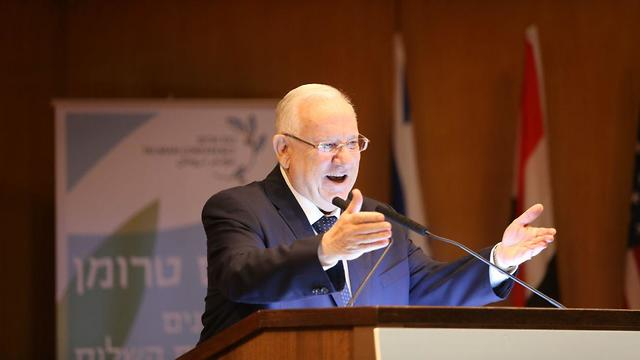 President Reuven Rivlin (Photo: Alex Kolomoisky)