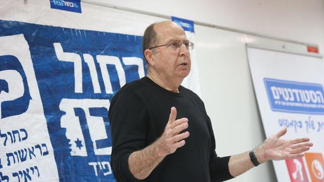 Moshe Ya'alon  (Photo: Moti Kimchi)