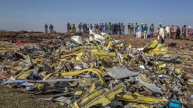 Ethiopia Airlines crash site (Photo: AP) (Photo: AP)