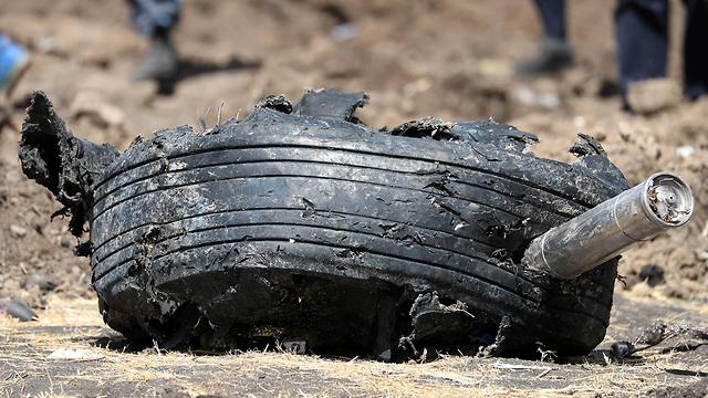 אתיופיה התרסקות מטוס אתיופיין איירליינס  (צילום: רויטרס)