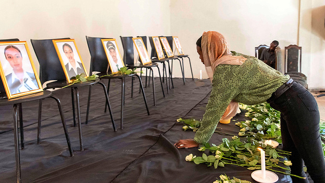 A memorial ceremony for the victims in Addis Ababa, capital of Ethiopia (Photo: Reuters)