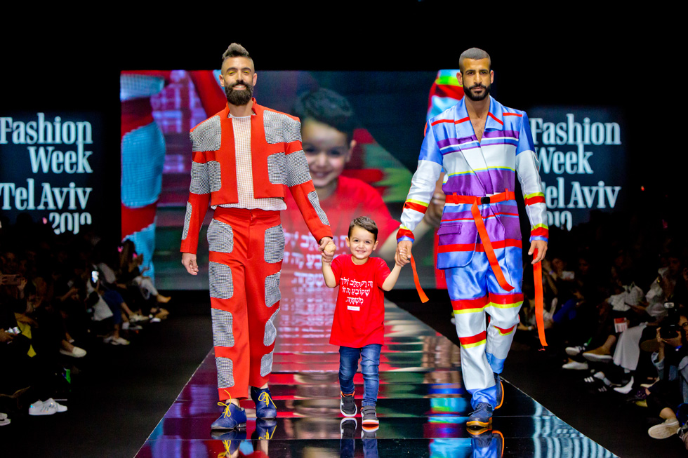 התצוגה של שנקר בשבוע האופנה בתל אביב, 2019 (צילום: ענבל מרמרי)