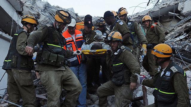 IDF rescue personnel in Haiti after the 2010 earthquake (Photo: IDF Spokesperson's Unit)