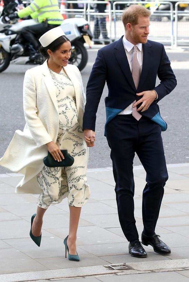 בקרוב הורים טריים. הנסיך הארי ומרקל (צילום: Gettyimages)