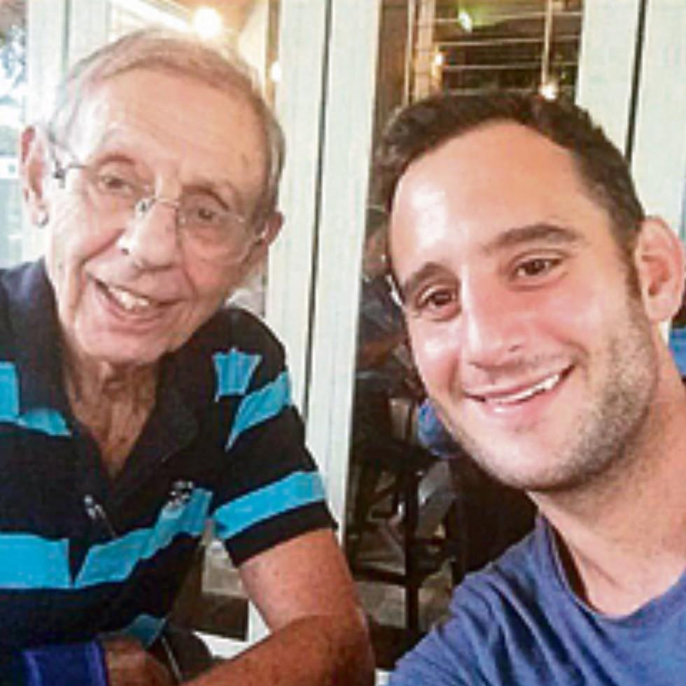 Журналист Гилад Шальмор и его дед Гарри Шайман