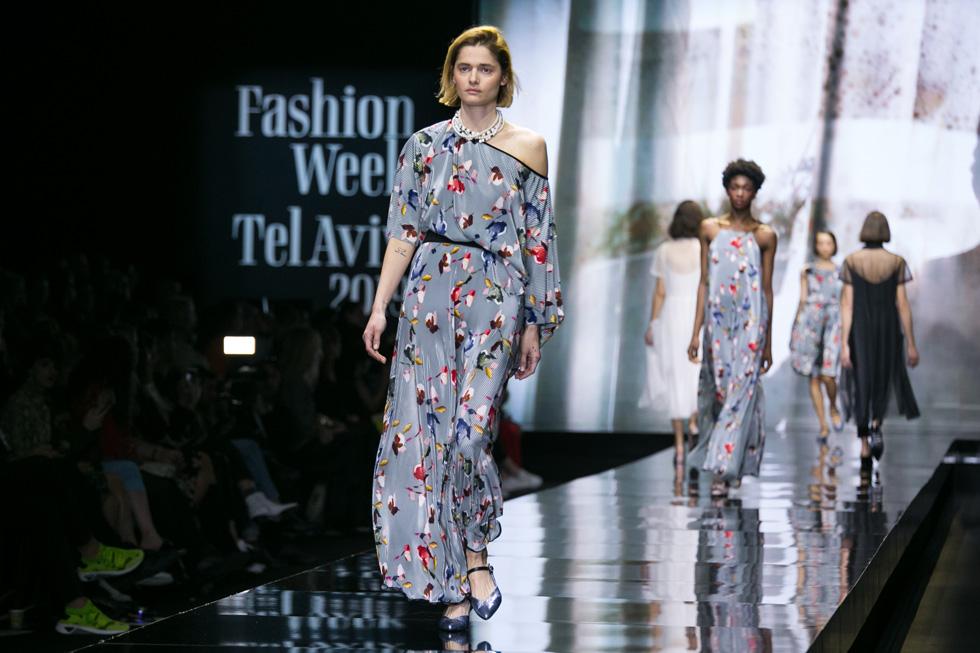 תצוגת האופנה של דורין פרנקפורט (צילום: אלון פרס)
