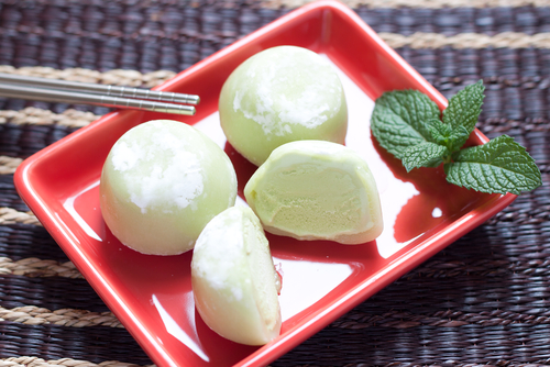 Японский десерт мочи. Фото: shutterstock