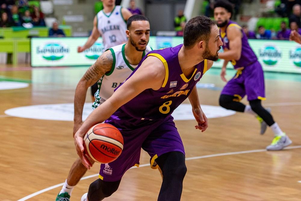 עמית שמחון הפועל חולון (צילום: FIBA.COM)