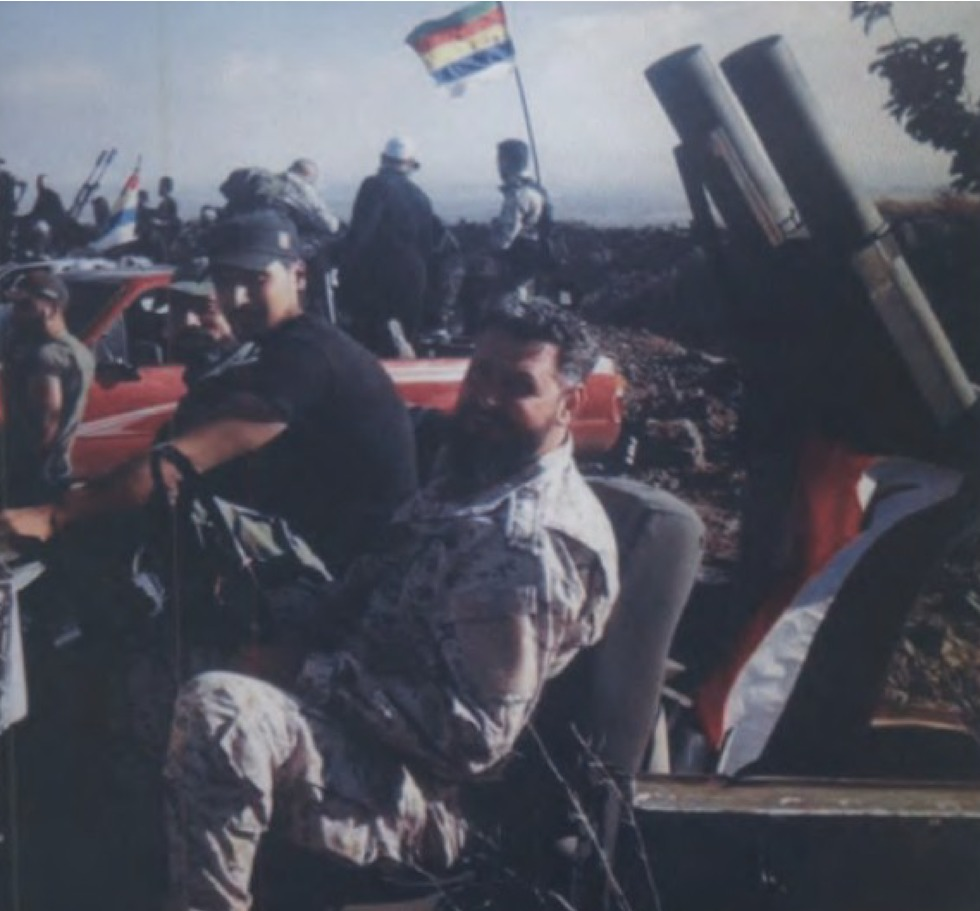 Hezbollah fighters from the 'Golan File' (Photo: IDF Spokesperson's Unit)