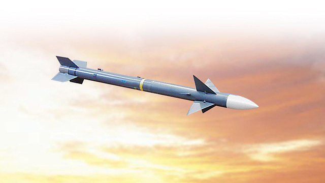 הטיל I-Derby (צילום: רפאל)