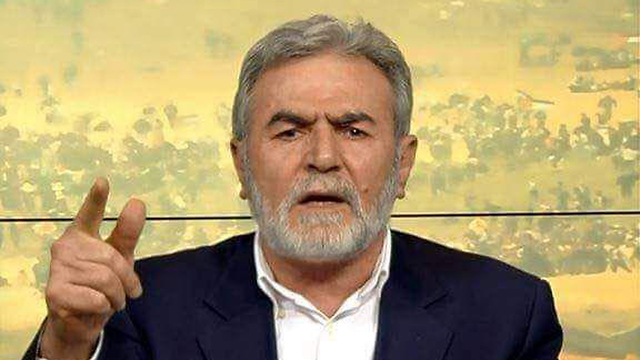 זיאד נחאלה מנהיג הג'יהאד האיסלאמי ()